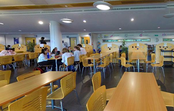 Jogn Bull Building Cafe